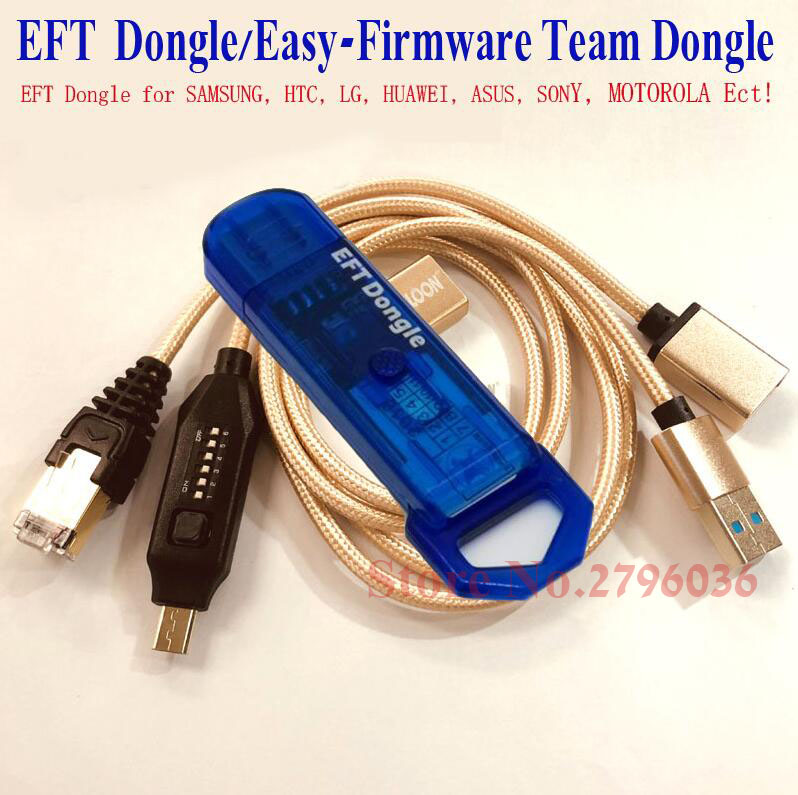 2020 Newest 100% Original EFT Pro DONGLE  EASY FIRMWARE TEMA  + UMF All Boot Cable ( All In One Boot Cable )  Free Shipping