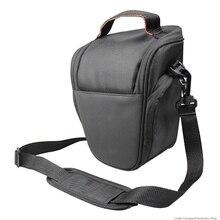 цена на Waterproof DSLR SLR Camera Bag Shoulder Case For Canon EOS For Nikon For Sony For Panasonic Camera Shoulder Bag