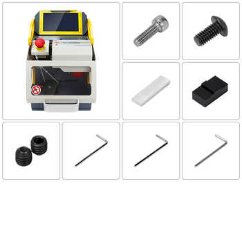 2020 Auto Locksmith Tool SEC E9 CNC Automatic Key Cutting Machine For Car Keys & House Keys Same As Miracle A9 Key Cutting