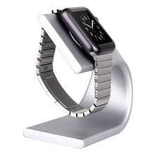 For Apple Watch band stand iwatch series 6 se 5 4 3 44mm 40mm 42mm 38mm U Holder Charging Cradle Bracket Accessories