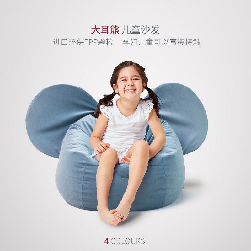 Kids Sofa Cute Cartoon Seats Bean Bag Removable And Washable Chair For Kids Bean Bags Baby Sofa Kids Furniture Kids Chair