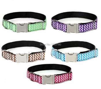 12pcs/lot Personalized Engraved Pet Name Dog Collar Creative Ethnic Style Dog Collar