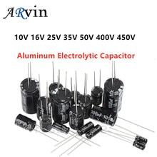 Electrolytic-Capacitor 470UF 220UF 400V 330UF 450V 680UF 100UF 10-47uf 100V Aluminum