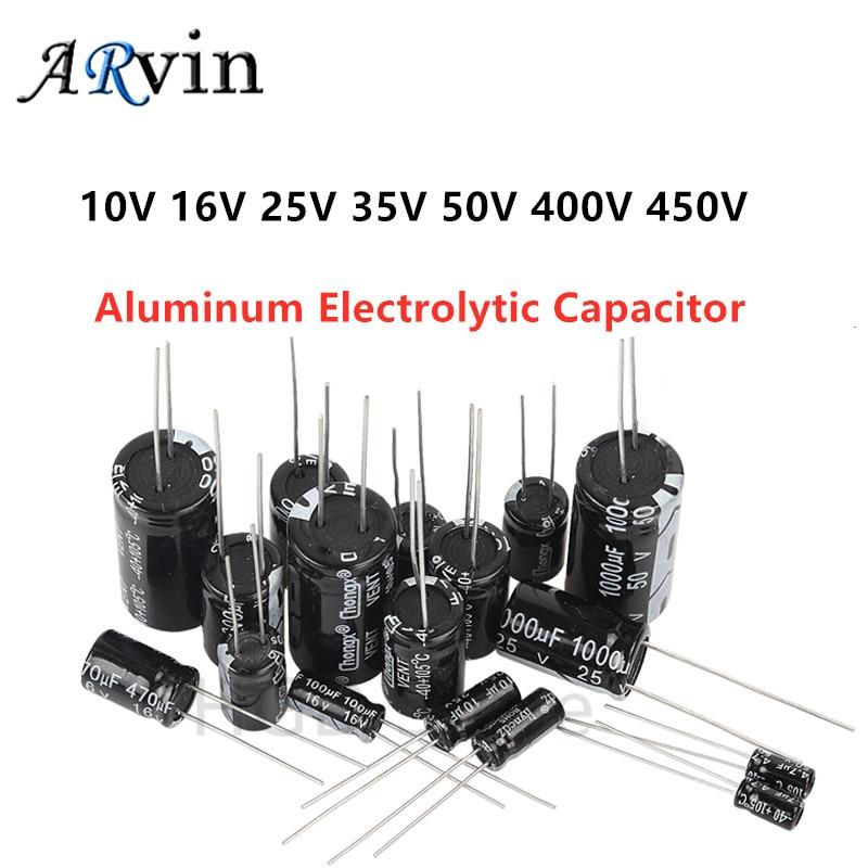 450V 220uF 330uF 470uF 680uF Aluminum Electrolytic Capacitor