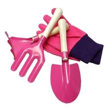 6 шт./компл. мини детские садовые перчатки распылитель воды мешок грабли дома Садоводство пляжный инструмент игрушка
