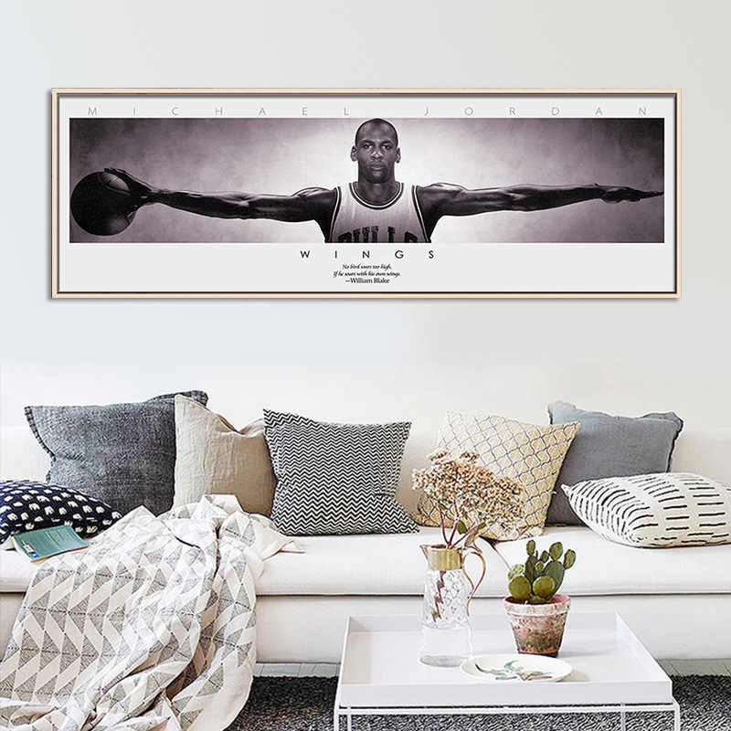 Klassieke Kobe Bryant Poster Decoratieve Schilderen Canvas Wall Art Woonkamer Opknoping Schilderen Slaapkamer Olieverf Basketbal Ster