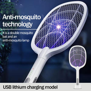 Trap Bug Zapper Insect-Racket Fly Swatter Mosquito-Killer Uv-Lamp 3000V Electric Usb-Charging