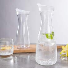 1000 ml garrafa de bebida jarro acrílico com tampa jarro de água jarro jarro de chá de gelo limonada suco infuser 1l garrafas de jarro de água