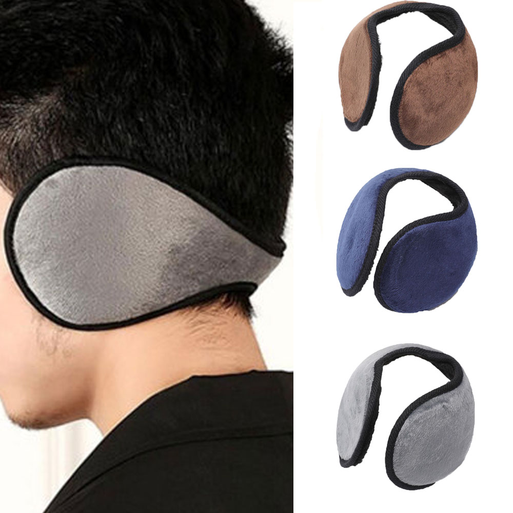 Unisex Earmuff Winter Ear Muff Wrap Band Ear Warmer Earlap Gift Earmuff Apparel Accessories Black/Coffee/Gray/Navy Blue Hot Sale