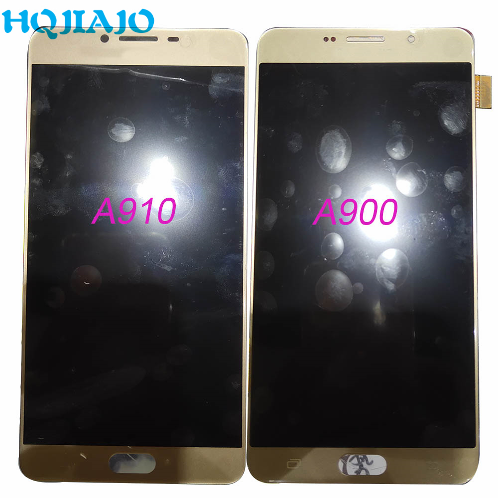 OLED <font><b>LCD</b></font> <font><b>Screen</b></font> For <font><b>Samsung</b></font> A900 A910 <font><b>LCD</b></font> Display Touch <font><b>Screen</b></font> Digitizer Assembly For <font><b>Samsung</b></font> <font><b>Galaxy</b></font> A900 A910 image