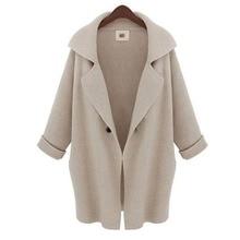 2019Women coat winter woolen Mid-Long New Korean temperament womens popular Outerwear