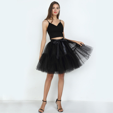 Pleated Large Pettiskirt Womens 5 Layers Of Multi-Color Mesh Girl Tutu Multi-Layer Stitching Skirt Party Tulle Bridesmaid
