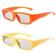 Children Size Circular Polarized Passive 3D Glasses For Real D 3D TV Cinema Movie