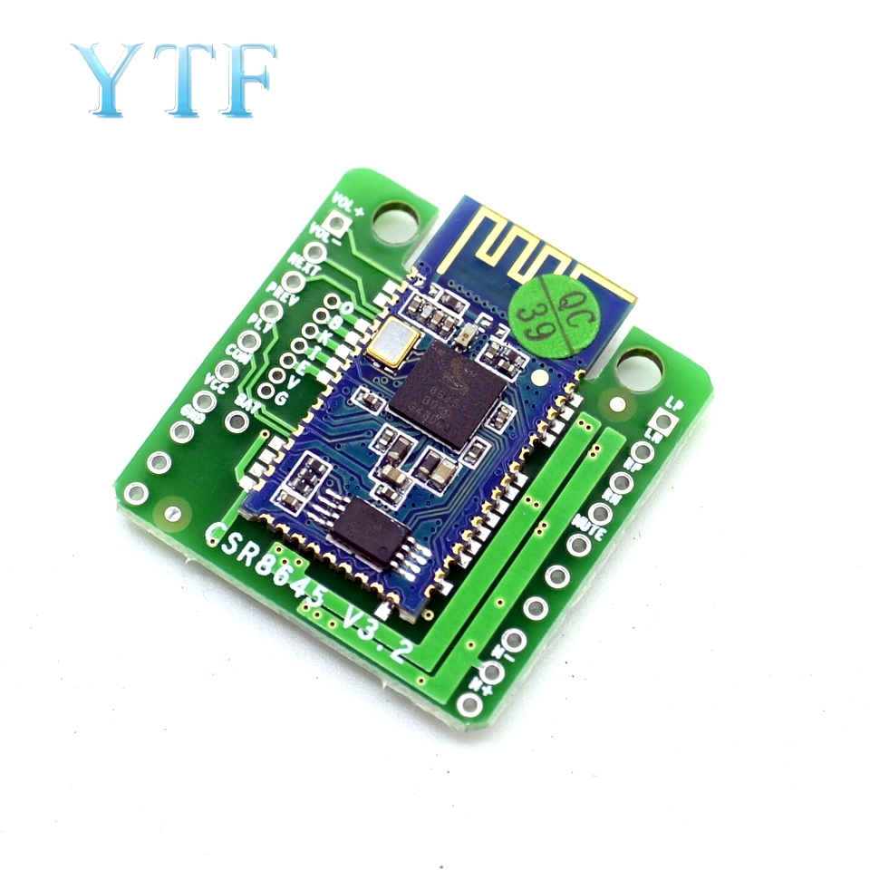 Bluetooth 4.0 CSR8645 Amplifier Board 5W+5W APT-X Stereo Receiver Amp Module