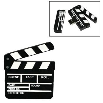 Creative Usb Flash Drive Movie Clapper Board Pendrive 128GB Memory Card 64GB Pen 32GB Stick 4GB 8GB