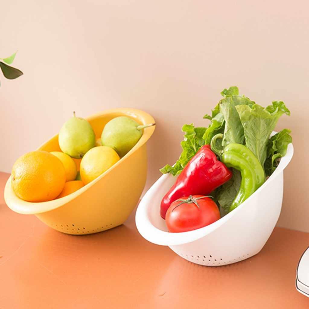 Di Scarico A scomparsa Cesto di Frutta E Verdura Piatto Tazza Da Cucina Cremagliera Lavello Piatto Vuoto Cremagliera In Plastica Da Cucina Cesto di Lavaggio 2020