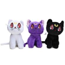 Kid Toy Animal Sailor-Moon Kawaii Doll Cat Baby Lovely 18cm Crystal Japan Luna