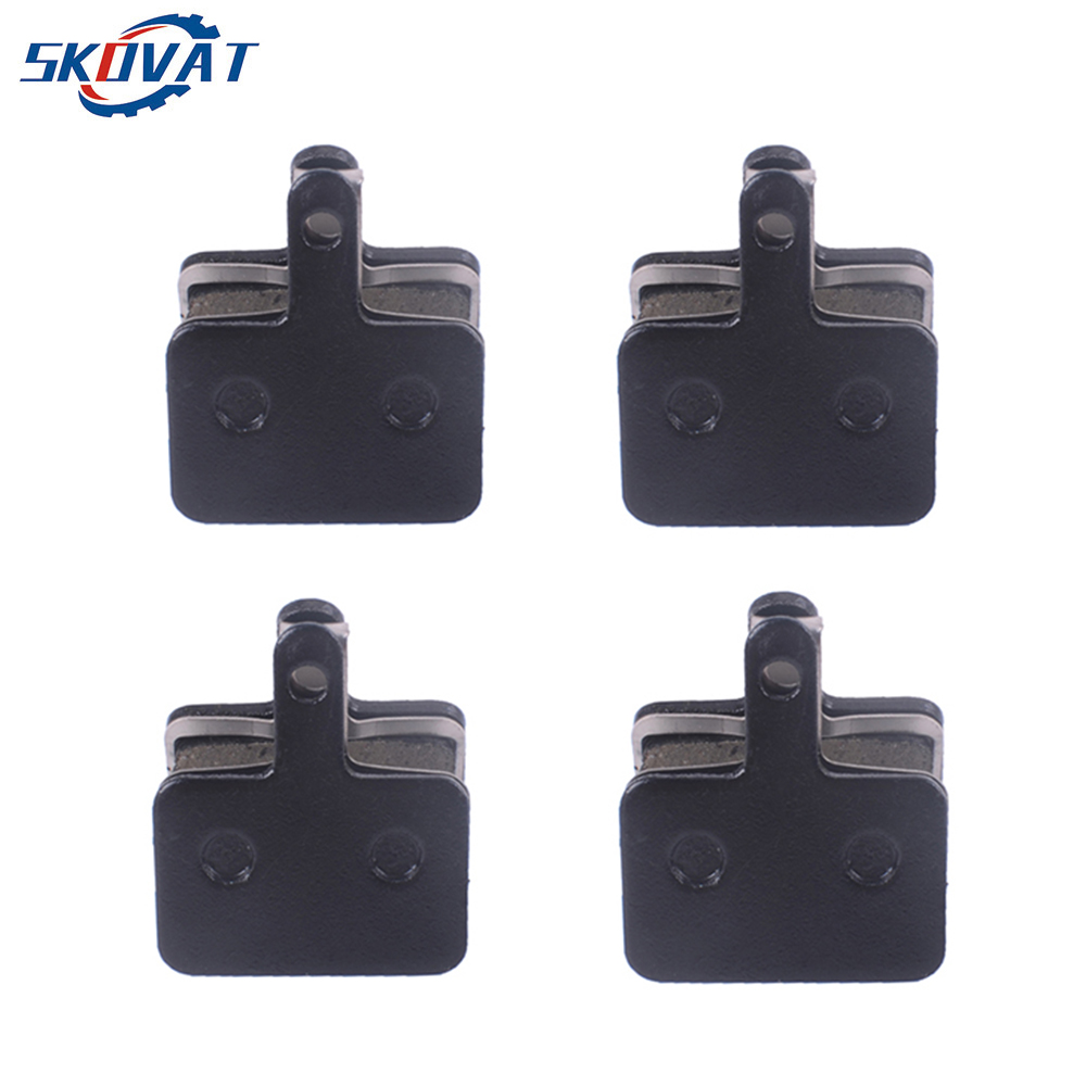 4 Pairs MTB Mountain Bike Bicycle Cycle Brake Pads Semi-metallic for <font><b>shimano</b></font> M416 447 446 455 <font><b>355</b></font> 395 315 TEKTRO HDM 290 300 image
