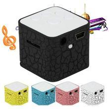 цена на Original Mini Music Digital Speakers MP3 Support Micro SD TF Card MP3 altavoz Sprecher