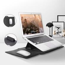 Сумки для ноутбука Macbook Air 13 чехол для ноутбука macbook Pro 15 дюймов Pu Macbook кожаный чехол для переноски Чехол