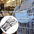 1 шт. Регулируемый веревочный держатель для маски на лицо веревка для маски против потери одноразовый держатель для маски без следов веревк...
