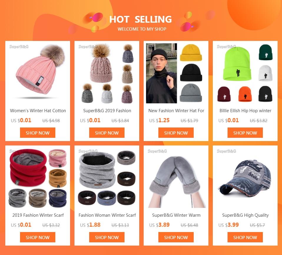 Women's Winter Hat Cotton Knit Fashion Winter Warm Beanie Hat Adjustable Hood Soft Pompom Hat Outdoor Sports 14