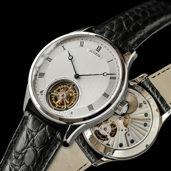 Sugess Genuine Seagull ST8230 Movement Men Watch Mechanical Vintage Wrist Dress Watch Elegant Genuine Leather Band 2020 1
