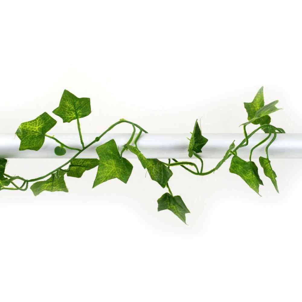 جديد 2M طويل الاصطناعي النباتات اللبلاب الأخضر يترك الاصطناعي العنب وهمية فاين أوراق الشجر يترك ديكورات منزلية لحفل الزفاف