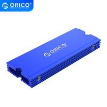 ORICO-disipador térmico de disipación de calor, disipador térmico de refrigeración SSD para M.2 NGFF 2280 PCI-E NVME, disipador térmico para SSD