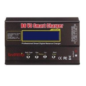 Image 3 - B6 v3 80w 6a lipo bateria balance carregador descarregador versão de atualização com adaptador de alimentação