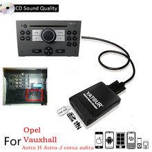 Yatour USB SD AUX Interfaccia del lettore MP3 Radio Digitale CD Changer Adattatore Per Opel Antara, Corsa D, combo B Vectra C Tigra