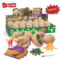 Excavate Dinosaur Egg Excavation Kit Simulation Archaeology Digging Up Fossils Model Children Educational Toy Explore Dinosaur