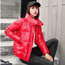 Womens Winter Coats Jacket Cotton Clothing 2019 New Korean V