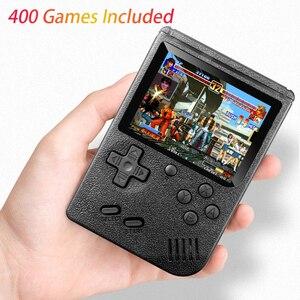 Image 1 - Klasyczny Design 400 w 1 Gameboy torba w stylu Retro gra wideo konsola 3.0 cal ekran TV AV OUT dla dziecka chłopiec prezent