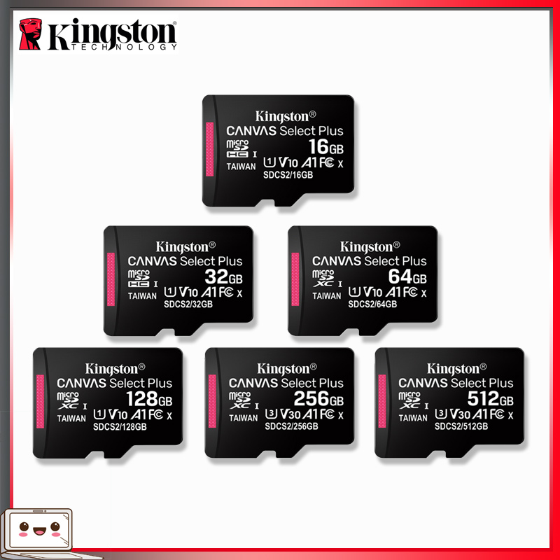 Kingston карта памяти Micro SD, 16-128 гб, 256-512 гб