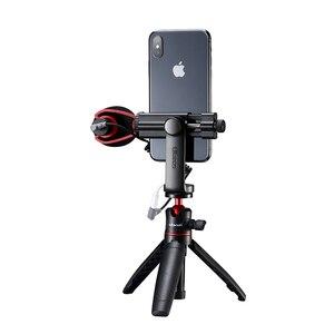 Image 5 - Ulanzi Smartphone חצובה הר מתאם חצובה גוזז מחזיק Youtube נוף ירי חצובה Stand עבור iPhone X 7 בתוספת Samsung