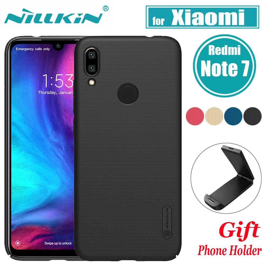 Nillkin for <font><b>Xiaomi</b></font> <font><b>Redmi</b></font> Note <font><b>7</b></font> Case Casing Frosted PC Hard <font><b>Back</b></font> <font><b>Cover</b></font> Case For <font><b>Xiaomi</b></font> <font><b>Redmi</b></font> Note <font><b>7</b></font> Pro 7S 6.3'' Note7 Nilkin image