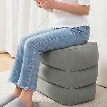 Портативная надувная подушка для ног на дальние расстояния для путешествий, для самолета, для сна, артефакт, для езды на поезде, жесткое сиденье, для ног, подставка для ног YHJ121302