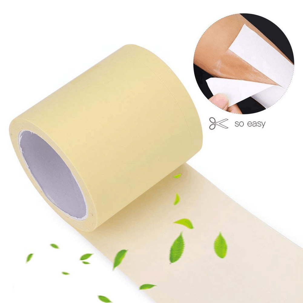 1Roll Underarm Dry Pads Disposable Armpit Prevent Sweat Pads Transparent Dry Antiperspirant Sticker Keep Dry Sticker
