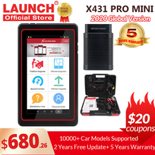 LAUNCH X431 Pro Mini V3.0 Full System Car Diagnostic tool OBD OBD2 Bluetooth/Wifi Code Reader Scanner X 431 Pros Mini  X431 V
