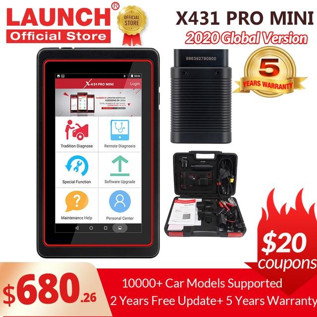 LAUNCH X431 Pro Mini V3.0 Full System Car Diagnostic tool OBD OBD2 Bluetooth/Wifi Code Reader Scanner X 431 Pros Mini  X431 V
