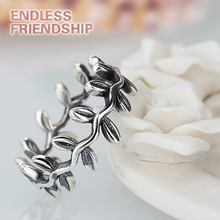 New Collection Authentic Laurel Wreath Laurel Leaves Brand Ring Plated Silver Weeding Rings for Woman Jewelry лорел эйткен girlie laurel aitken original albums collection 5 cd