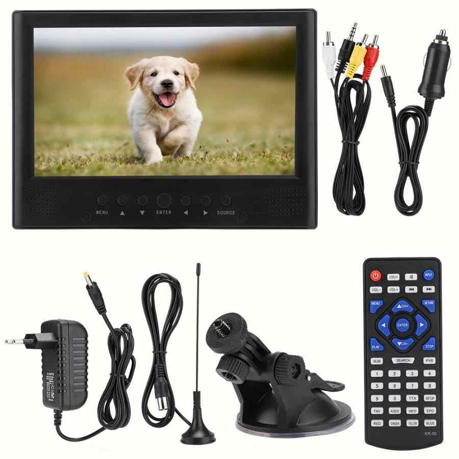 LEADSTAR 9 Inch TV television 800 x 480 Color TFT-LED DVB-T/T2 Front Speaker Digital TV televisor portable led car tv televizyon
