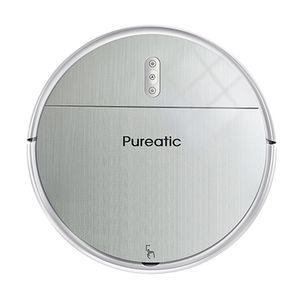 Pureatic-Robot aspirador V6, para barrer, fregar y fregar pelo de mascota y suelos duros, recarga automática, poderosa succión, Ultra delgada