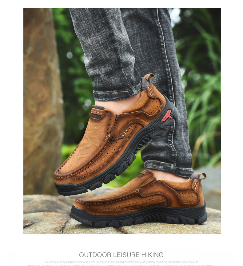 H065796e039ca4341b42fda37c85647e5T Men Casual Shoes Sneakers 2019 New High Quality Vintage 100% Genuine Leather Shoes Men Cow Leather Flats Leather Shoes Men