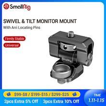 """SmallRig Swivel und Tilt Monitor Montieren mit Arri Ortung Pins Für 5 """"und 7"""" Bildschirm Monitor EVF Montieren 2348"""