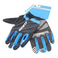 Original NEW GIANT Cycling Gloves Bike Gloves Sport Shockproof MTB Road Full Finger Bicycle Glove For Men Woman bicycle parts