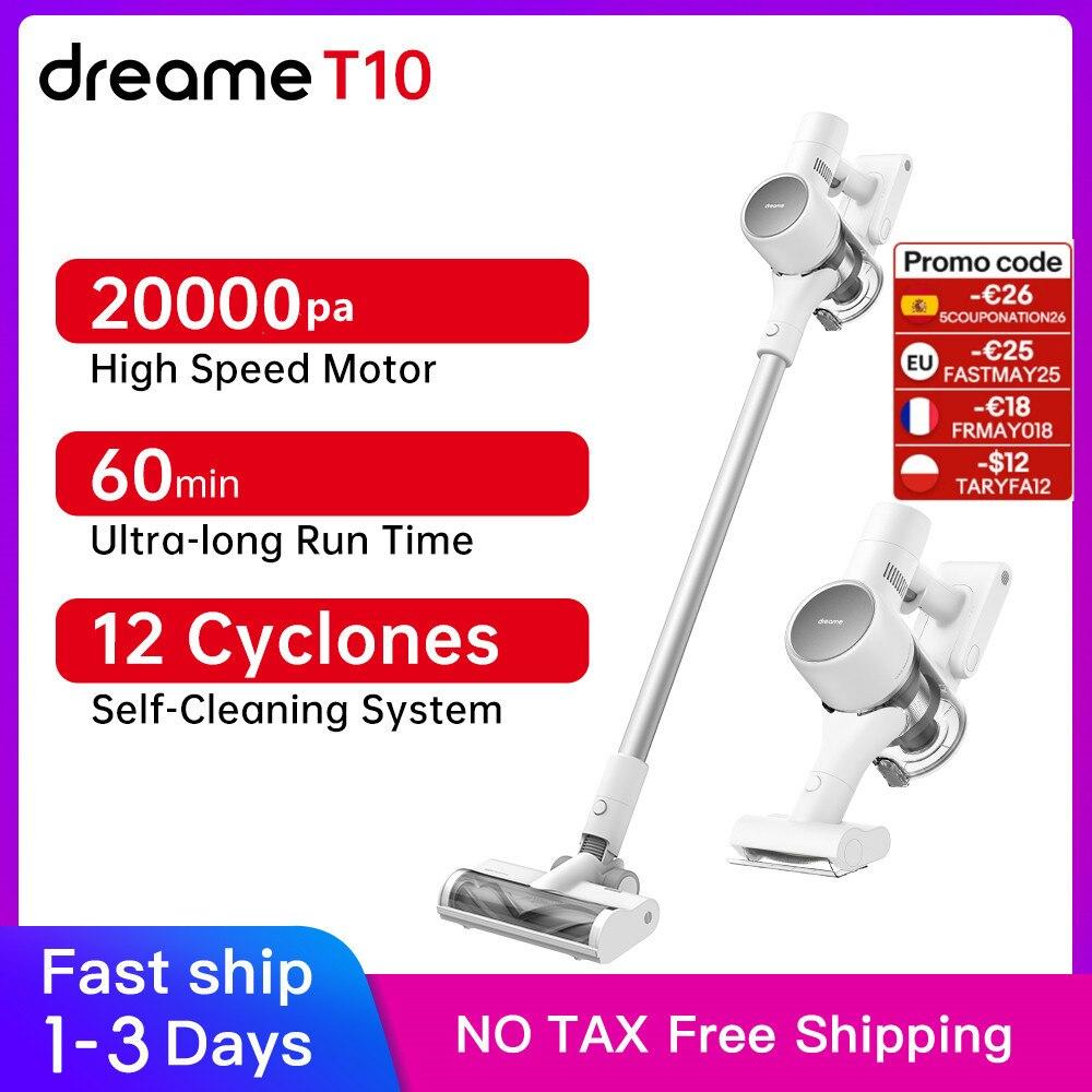 Dreame T10 Tragbare Reiniger Vakuum 20kPa Saug Teppich Staubsauger Alle In Einem Pinsel Staub Kollektor Boden Teppich Sauger