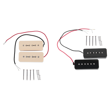 Zestaw P90 gitara elektryczna Soapbar pojedyncza cewka przetworniki P 90 kostka mydła przetworniki tanie i dobre opinie Pickup P90 Electric guitar Single Coil Pickups 101G Piece yellow Approx 50 mm 52mm As shown in the photo CN (pochodzenie)