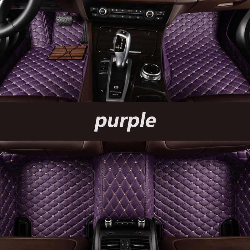 Kalaisike için özel araba paspaslar Luxgen tüm modeller Luxgen 7 5 U5 SUV oto tasarım araba aksesuarları